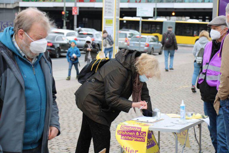 Deutsche Wohnen & Co Enteignen, Aufstehen Berlin